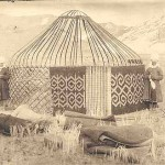 Kirgiz Yurt With Reed Screen