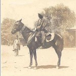 Turkoman on Horse with Silver Trappings