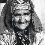 Anatoly Rahimbaev, Old woman, Hissar, 1999.