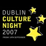 Dublin Culture Night 2007 - 14th September.