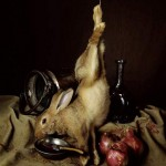 Nature morte au lapin - Guido Mocafico
