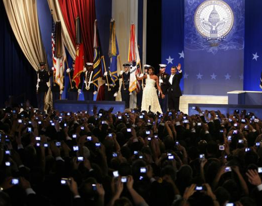 President and First Lady Obama at the Inaugural Youth Ball