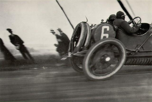 Car Trip, Papa at 80 kilometers an hour, Jacques-Henri Lartigue, 1913.